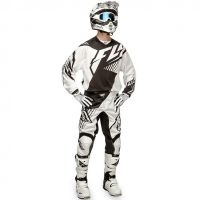 Fly - 2016 Kinetic Vector Mesh комплект штаны и джерси, черно-белый