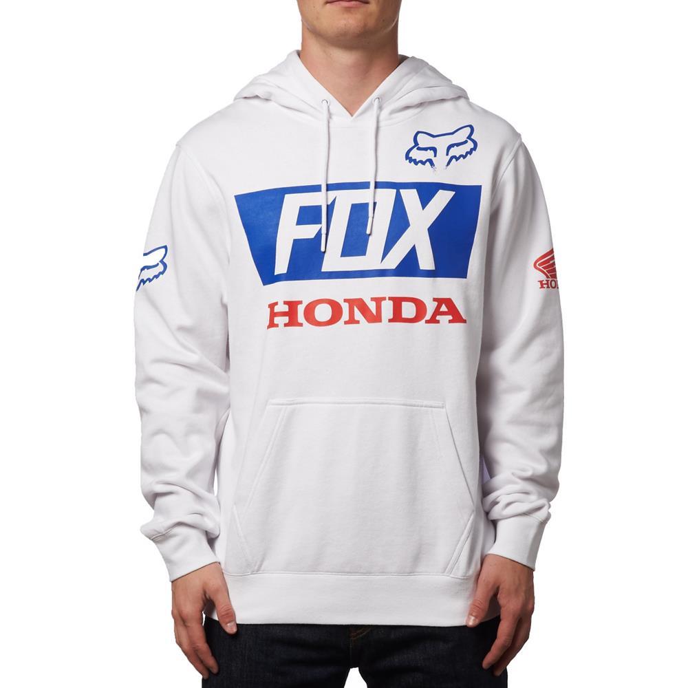 Fox - 2017 Honda Basic толстовка, белая