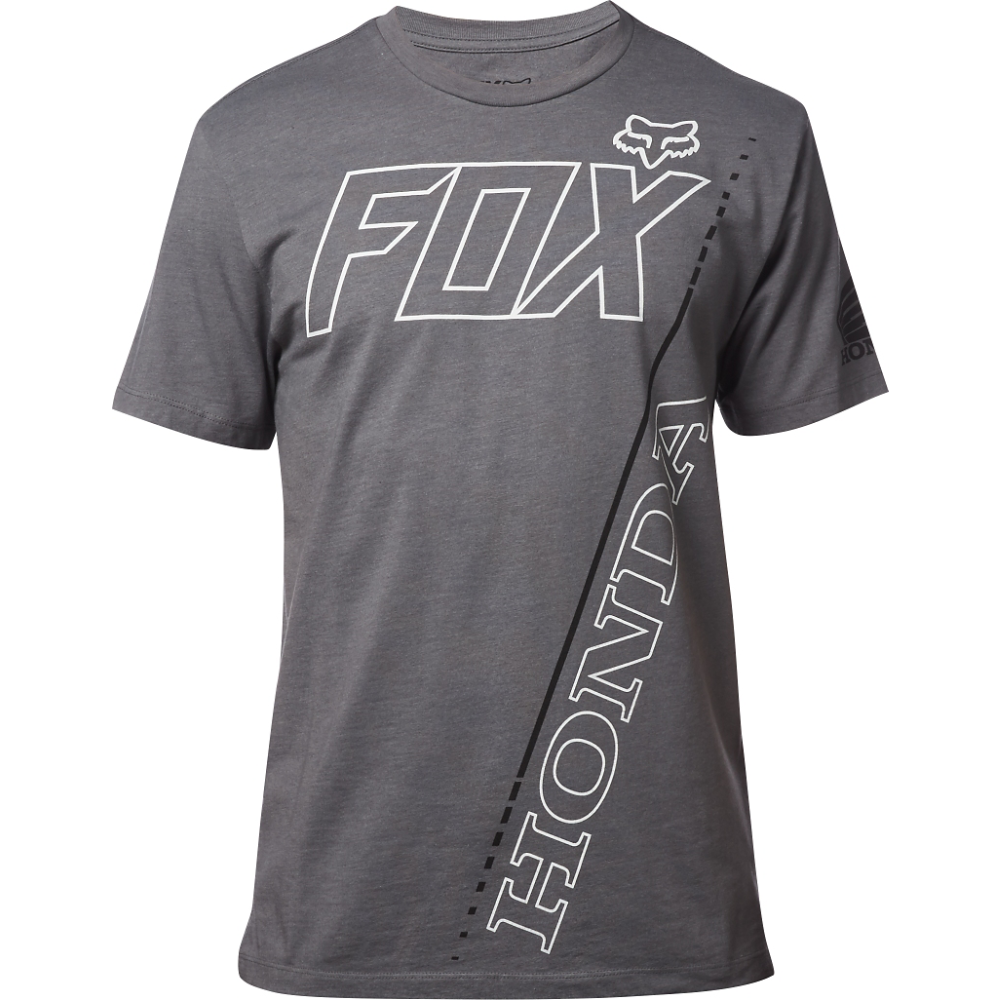 Fox - 2017 Honda Premium Tee Heather футболка, серая