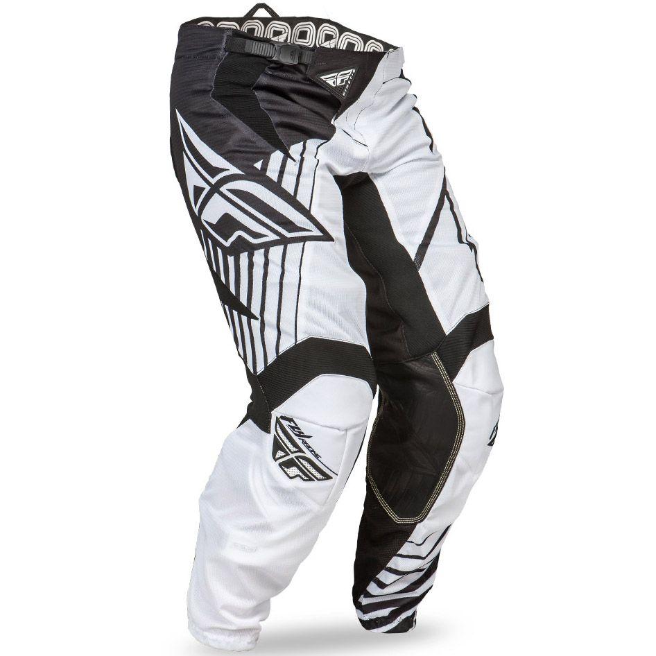 Fly Kinetic Vector Mesh штаны, черно-белые