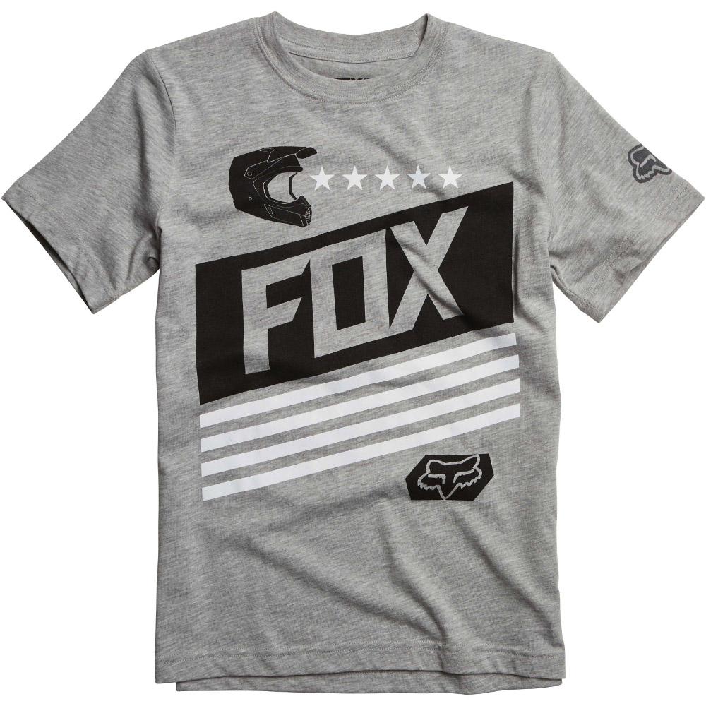Fox - Youth Ozwego SS Tee Heather футболка подростковая, серая