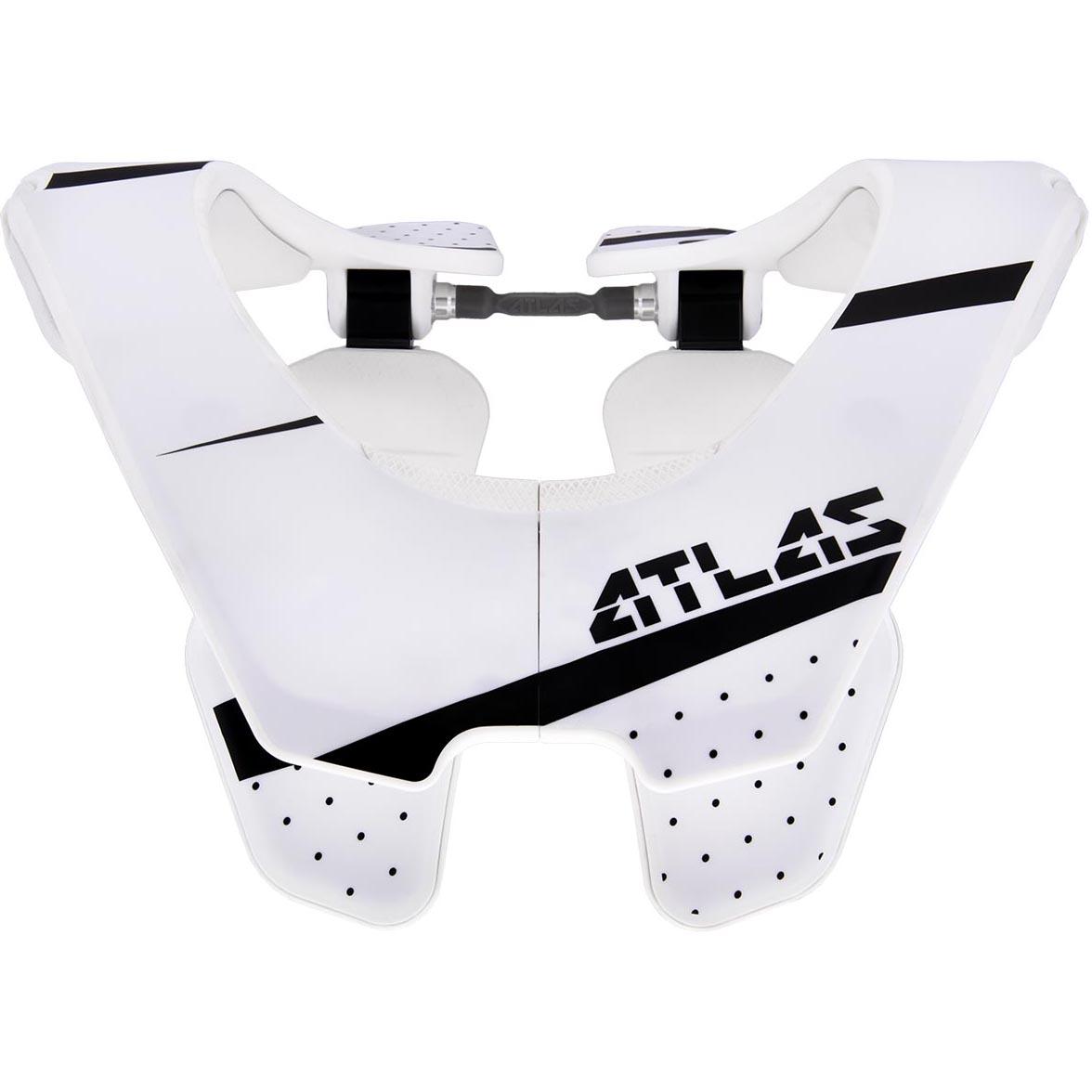 Atlas - 2017 Air Trooper защита шеи, бело-черная