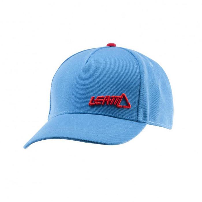 Leatt - 2017 Cap Snapback Petrol бейсболка, голубая