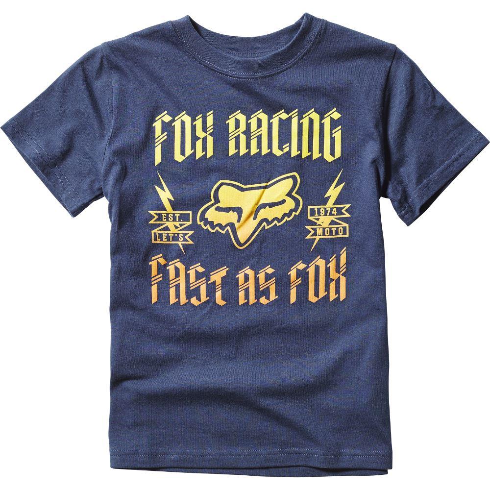 Fox - 2017 Kids Ruppe SS Tee Indigo футболка детская, синяя
