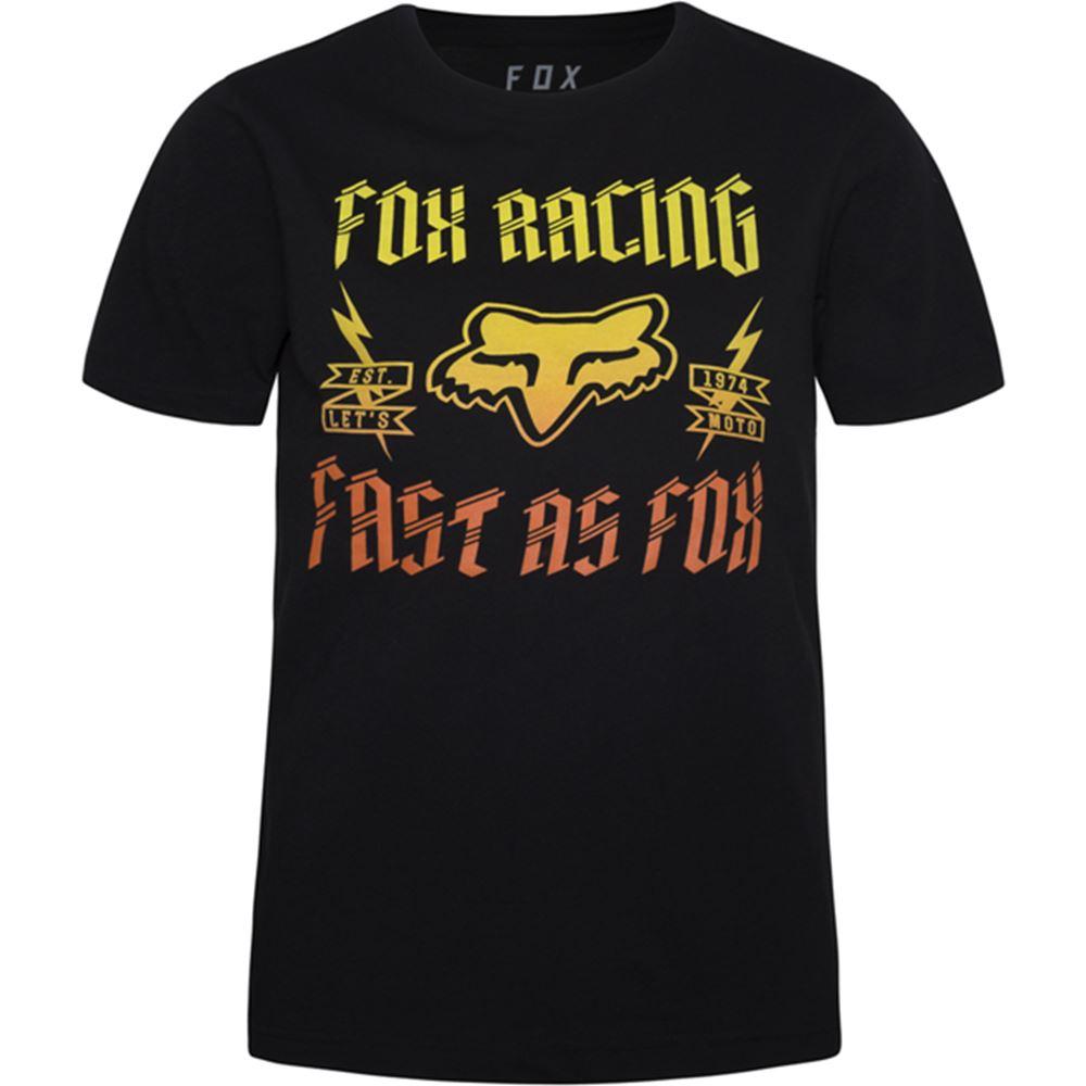 Fox - 2017 Youth Ruppe SS Tee футболка подростковая, черная