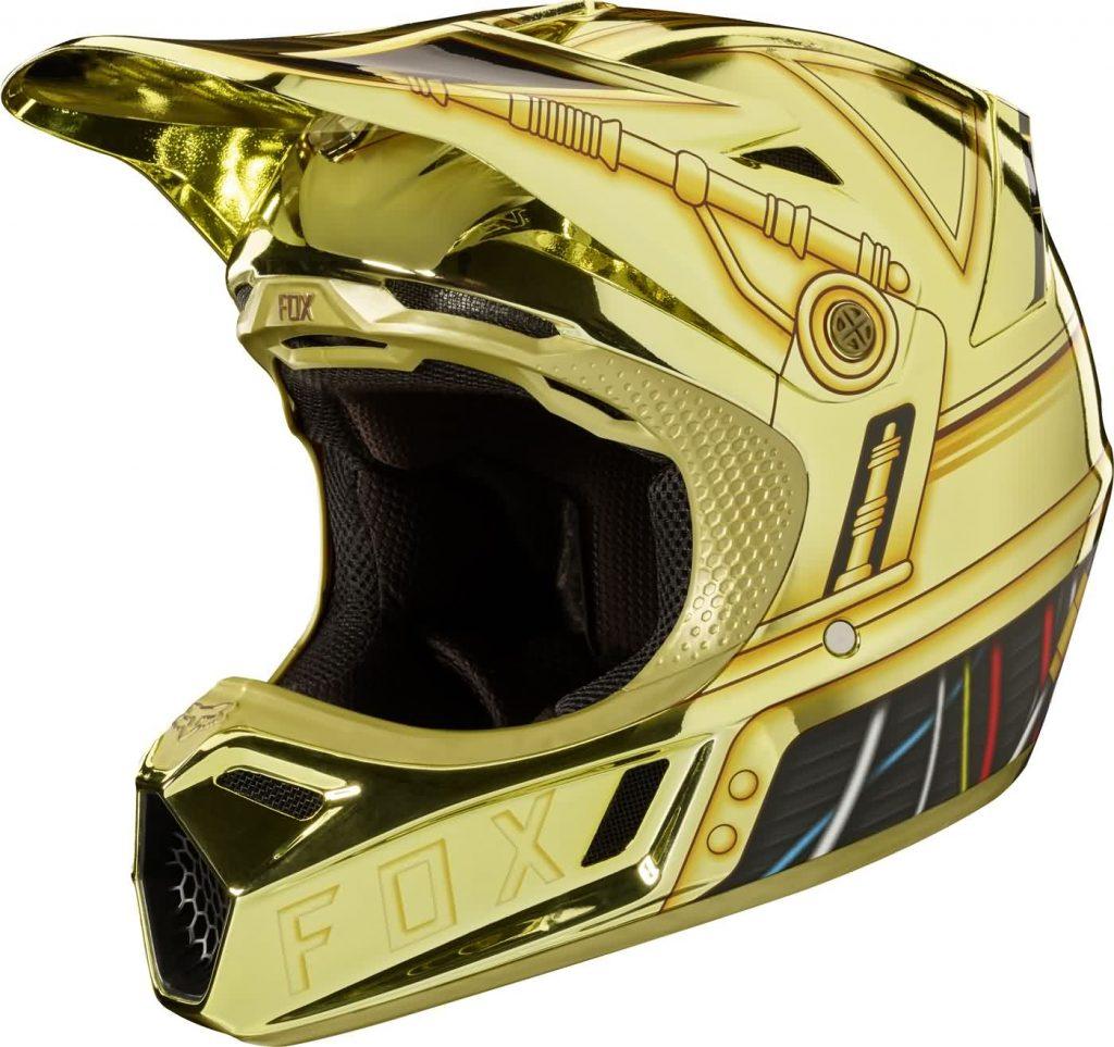 Fox - V3 StarWars C3PO Limited Edition шлем